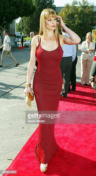 Actress Lorri Bagley arrives at the world premiere of Paramount's The Stepford Wives at the Bruin Theatre on June 6 2004 in Los Angeles California