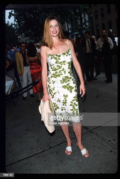 Actress Lorri Bagley attends the premiere of Trick at Chelsea West Cinema July 21 1999 in New York City The film directed by Jim Fall is about two...