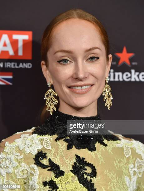 Actress Lotte Verbeek arrives at The BAFTA Los Angeles Tea Party at Four Seasons Hotel Los Angeles at Beverly Hills on January 6 2018 in Los Angeles...