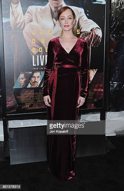 Actress Lotte Verbeek arrives at the Premiere of Live By Night at TCL Chinese Theatre on January 9 2017 in Hollywood California