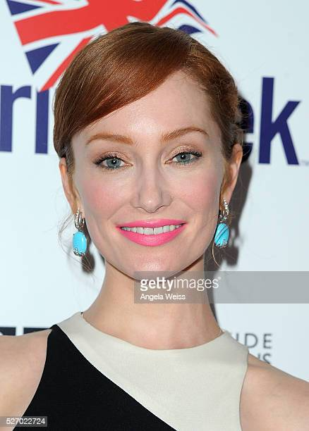 Actress Lotte Verbeek attends BritWeek's 10th Anniversary VIP Reception Gala at Fairmont Hotel on May 1 2016 in Los Angeles California