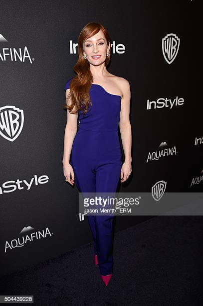 Actress Lotte Verbeek attends The 2016 InStyle And Warner Bros 73rd Annual Golden Globe Awards PostParty at The Beverly Hilton Hotel on January 10...