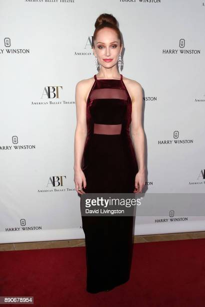 Actress Lotte Verbeek attends the American Ballet Theatre's annual holiday benefit dinner and performance at The Beverly Hilton Hotel on December 11...