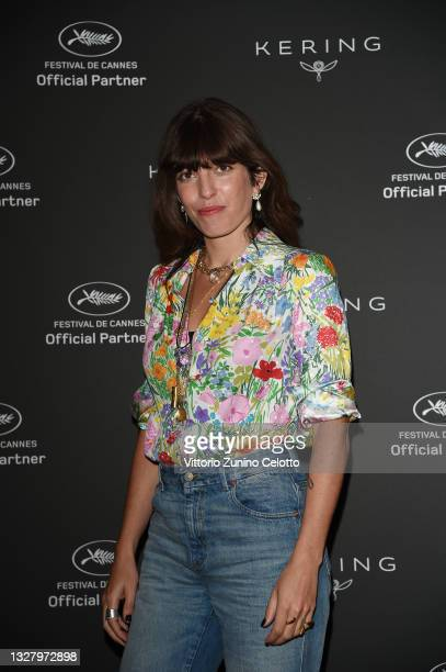 Actress Lou Doillon attends Kering Talks Women In Motion at the Kering suite on July 10, 2021 in Cannes, France.
