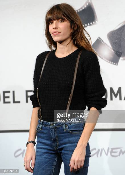 """Actress Lou Doillon poses during the french film """"Un Enfant De Toi"""" Photocall on November 15, 2012 at the 7th Rome Film Festival in Rome, Italy."""