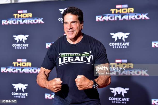 """Actress Lou Ferrigno arrives at the Premiere Of Disney And Marvel's """"Thor: Ragnarok"""" - Arrivals on October 10, 2017 in Los Angeles, California."""