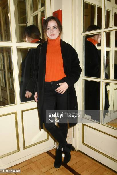 Actress Lou Gala attends the Poesie En Liberté 2019 Awards Ceremony At Mairie Du 5eme on November 23 2019 in Paris France