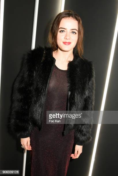 Actress Lou Gala attends YSL Beauty Party During Paris Fashion Week Menswear Fall/Winter 20182019 on January 17 2018 in Paris France