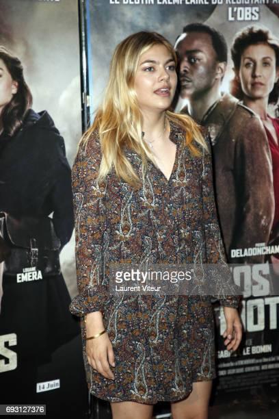 Actress Louane Emera attends Nos Patriotes Paris Premiere at UGC Cine Cite des Halles on June 6 2017 in Paris France