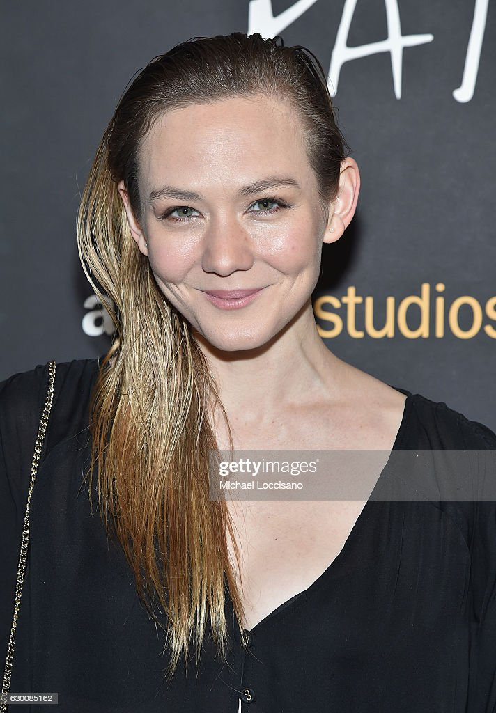 Actress Louisa Krause attends the New York screening of 'Paterson' at Landmark Sunshine Cinema on December 15, 2016 in New York City.