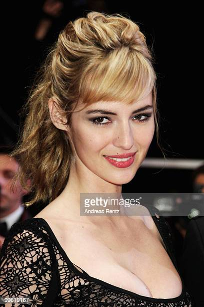 Actress Louise Bourgoin attends 'Black Heaven' Premiere at the Palais des Festivals during the 63rd Annual Cannes Film Festival on May 16 2010 in...