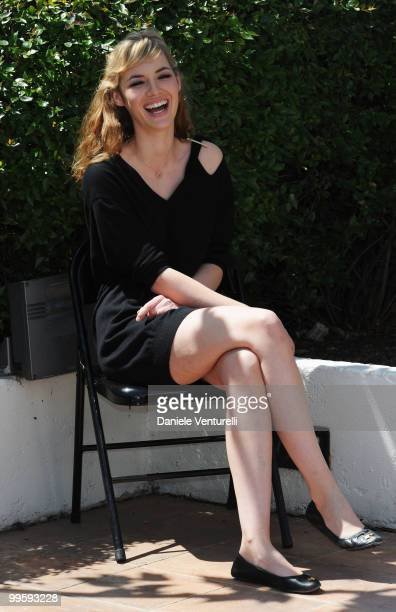 Actress Louise Bourgoin attends the 'Black Heaven' Photo Call held at the Palais des Festivals during the 63rd Annual International Cannes Film...