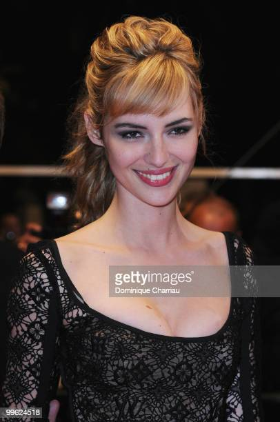 Actress Louise Bourgoin attends the 'Black Heaven' Premiere held at the Palais des Festivals during the 63rd Annual International Cannes Film...