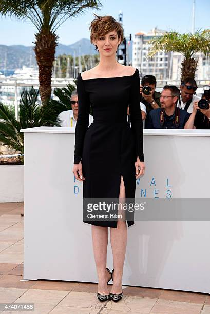 Actress Louise Bourgoin attends the 'Je Suis Un Soldat' Photocall during the 68th annual Cannes Film Festival on May 20 2015 in Cannes France