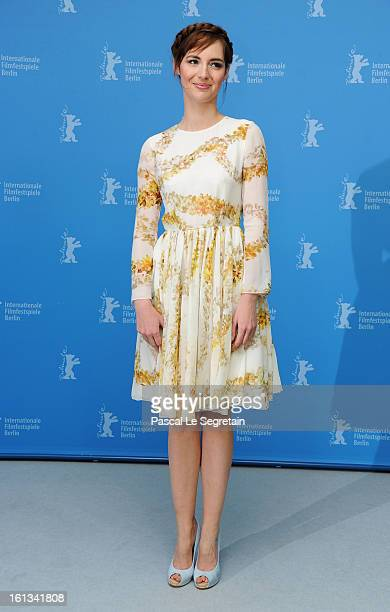 Actress Louise Bourgoin attends 'The Nun' Photocall during the 63rd Berlinale International Film Festival at the Grand Hyatt Hotel on February 10...