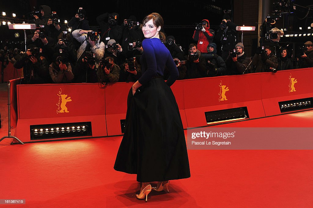 Actress Louise Bourgoin attends the 'The Nun' Premiere during the 63rd Berlinale International Film Festival at Berlinale Palast on February 10, 2013 in Berlin, Germany.