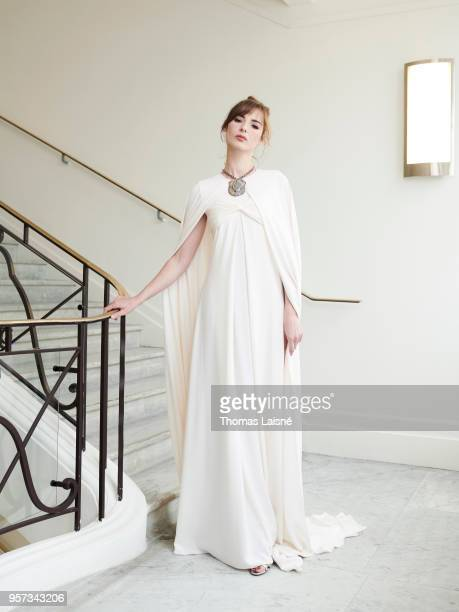 Actress Louise Bourgoin is photographed for Gala Croisette on May 2018 in Cannes France