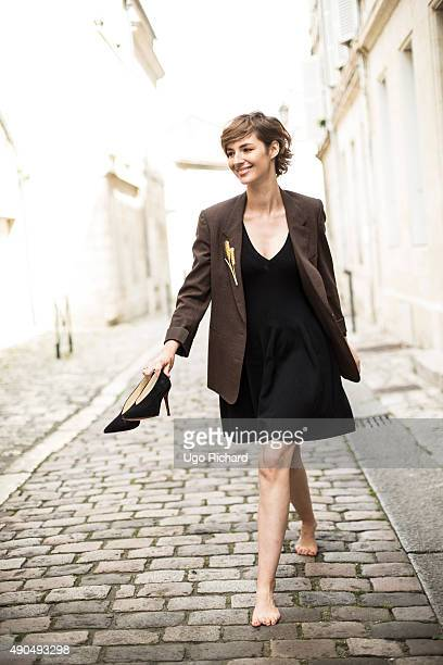 Actress Louise Bourgoin is photographed for Gala on August 31 2015 in Angouleme France