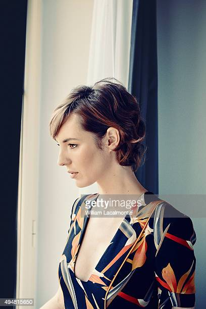 Actress Louise Bourgoin is photographed for Self Assignment on September 18 2015 in San Sebastian Spain
