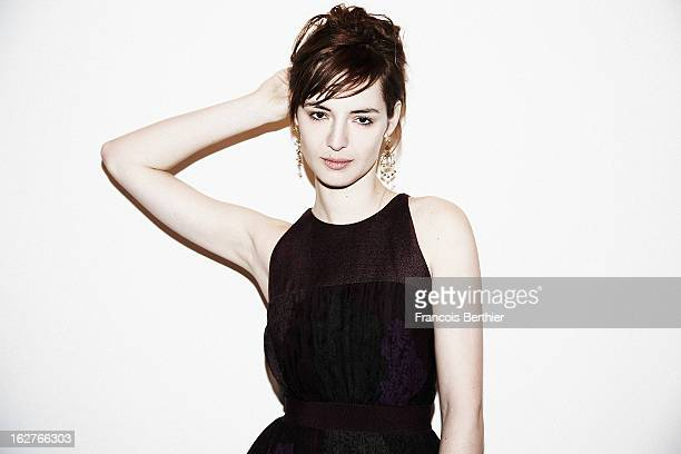 Actress Louise Bourgoin is photographed for Self Assignment on February 8 2013 in Berlin Germany