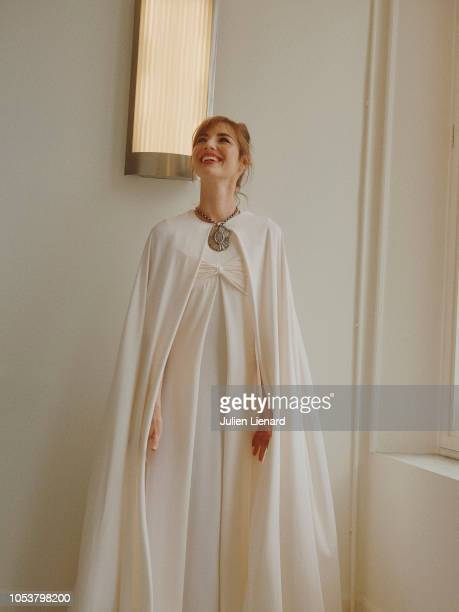 Actress Louise Bourgoin is photographed for Self Assignment on June 2018 in Cabourg France