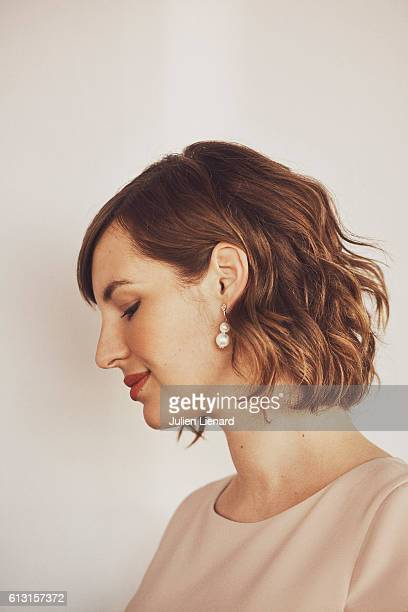 Actress Louise Bourgoin is photographed for Self Assignment on June 11 2016 in Cabourg France