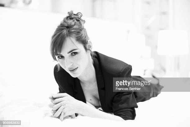 Actress Louise Bourgoin is photographed for Self Assignment, on May, 2018 in Cannes, France. . .