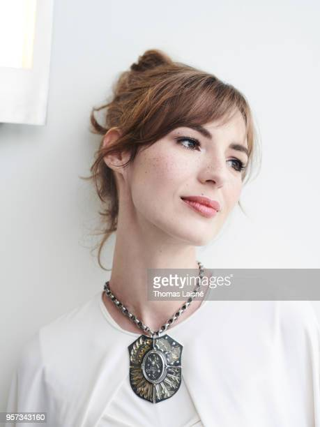 Actress Louise Bourgoin is photographed for Self Assignment on May 2018 in Cannes France