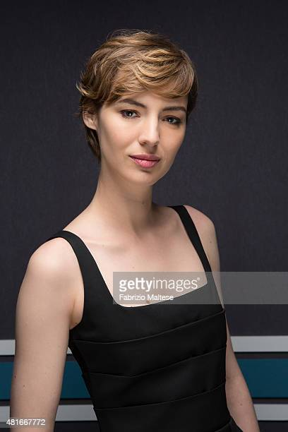 Actress Louise Bourgoin is photographed for The Hollywood Reporter on May 15, 2015 in Cannes, France.