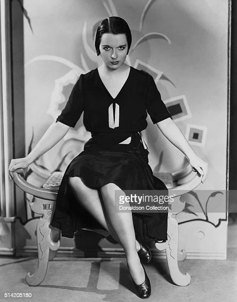 Actress Louise Brooks in a scene from the movie God's Gift To Women which was released in 1931