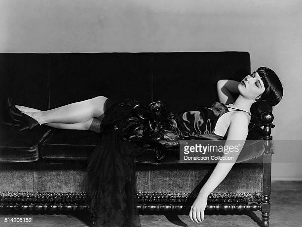 Actress Louise Brooks in a scene from the movie The Canary Murder Case which was released in 1929