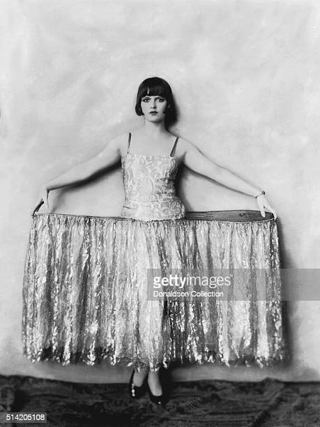 Actress Louise Brooks poses for a portrait for the 1925 edition of the Ziegfeld Follies in New York