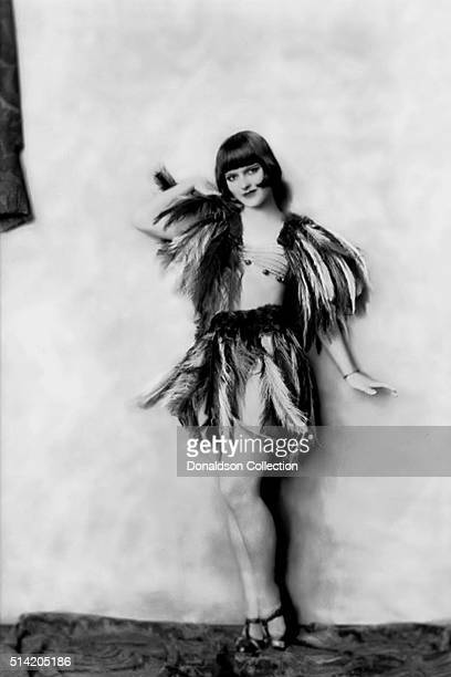 Actress Louise Brooks poses for a portrait session for the Ziegfield Follies in 1925 in New York