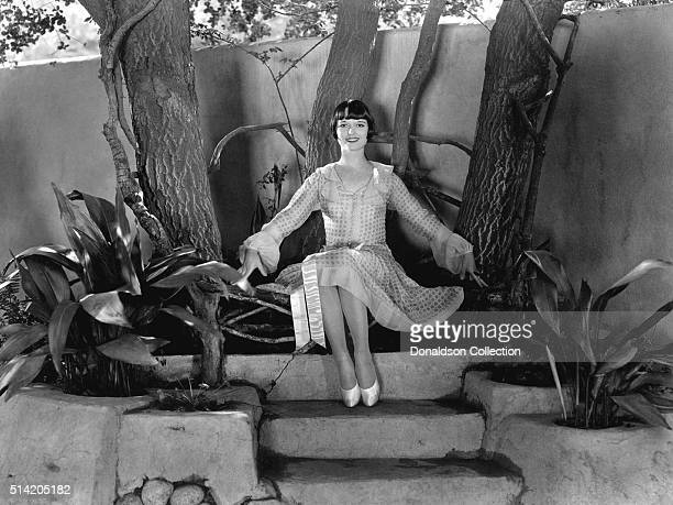 Actress Louise Brooks poses for a portrait session in circa1925