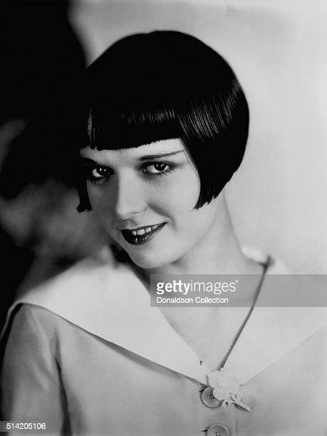 Actress Louise Brooks poses for a portrait session in circa1926