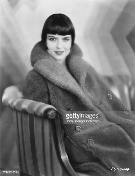 Actress Louise Brooks Seated