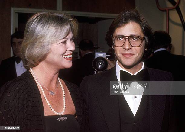 Actress Louise Fletcher and date Morgan Mason attend the Sixth Annual American Film Institute Lifetime Achievement Award Salute to Henry Fonda on...