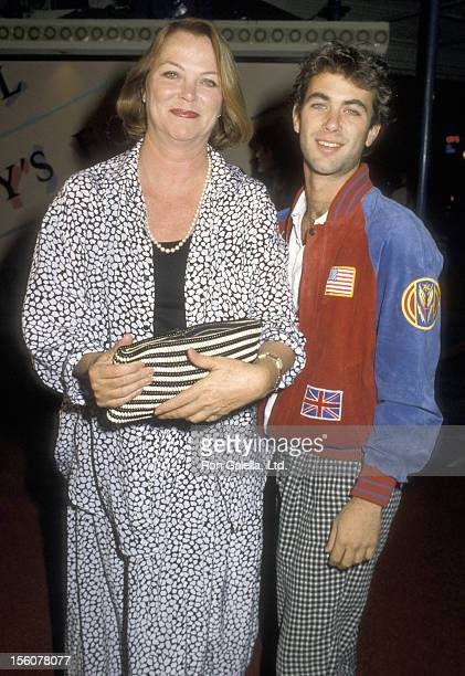Actress Louise Fletcher and son Andrew Bick attend the 'Nobody's Fool' Westwood Premiere on November 3 1986 at Mann Village Theatre in Westwood...