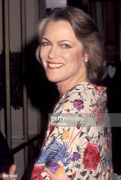 Actress Louise Fletcher attends the Fifth Annual American Film Institute Lifetime Achievement Award Salute to Bette Davis on March 1 1977 at Beverly...