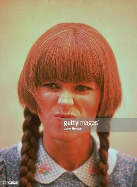 Actress Louise Lasser of the TV series Mary Hartman Mary Hartman
