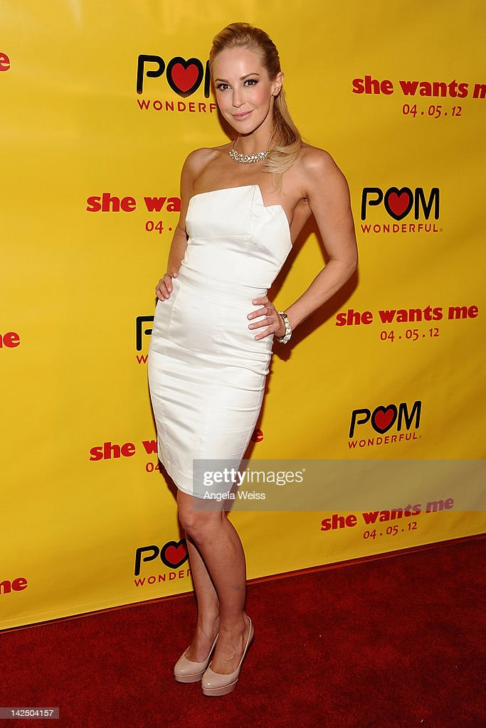 "Premiere Of ""She Wants Me"" - Arrivals"