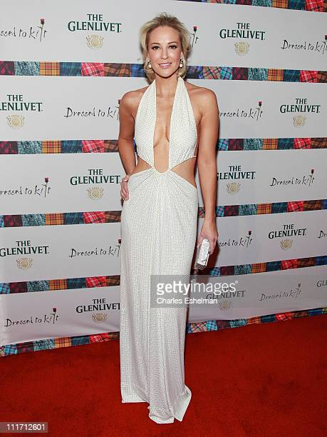 Actress Louise Linton attends the 9th Annual Dressed To Kilt Benefit at Hammerstein Ballroom on April 5 2011 in New York City