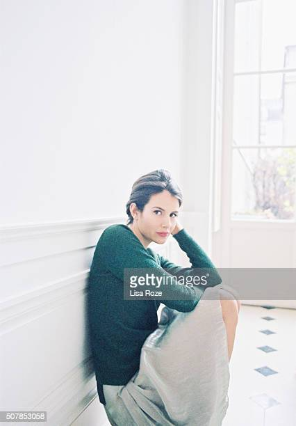 Actress Louise Monot is photographed for Self Assignment on December 28 2015 in Paris France