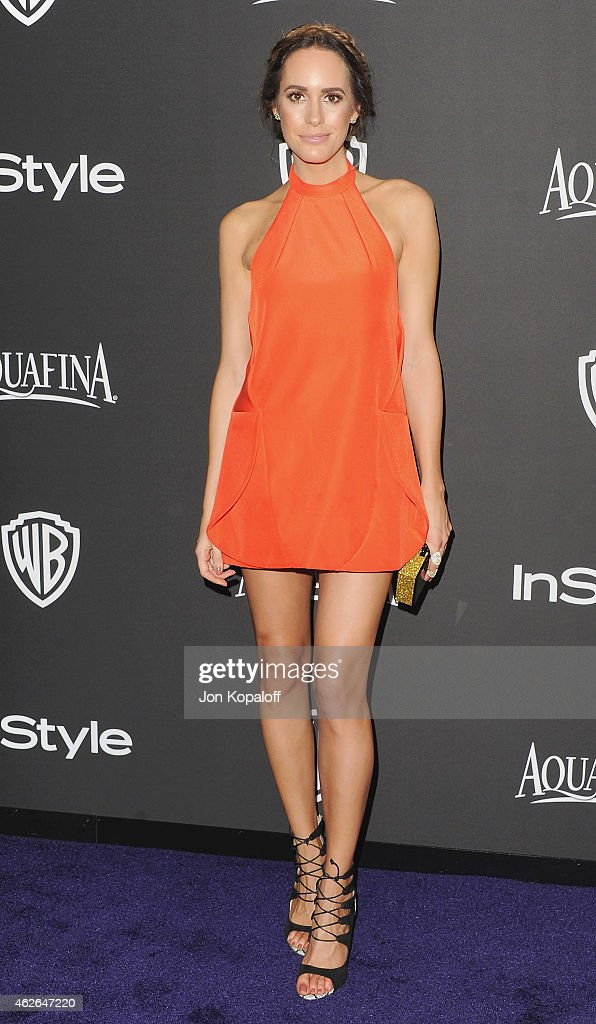 Actress Louise Roe arrives at the 16th Annual Warner Bros. And InStyle Post-Golden Globe Party at The Beverly Hilton Hotel on January 11, 2015 in Beverly Hills, California.