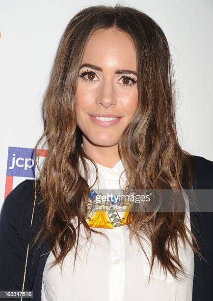 81c9acd7a61b Actress Louise Roe attends the Joe Fresh at jcp launch event at Joe Fresh  at jcp