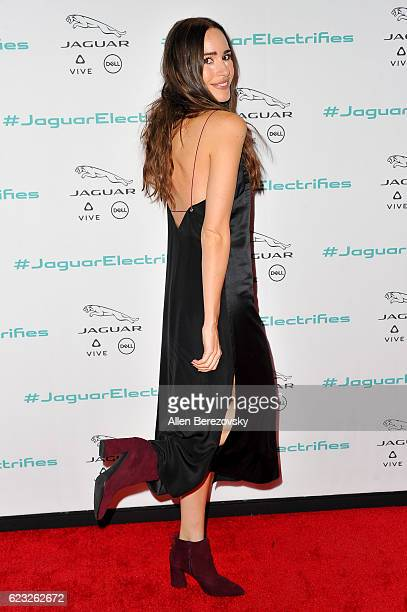 Actress Louise Rose attends the Next Era Jaguar Vehicle Unveiling Event at Milk Studios on November 14 2016 in Los Angeles California