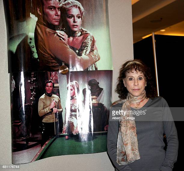 Actress Louise Sorel attends The Hollywood Show held at The Westin Los Angeles Airport on January 7 2017 in Los Angeles California