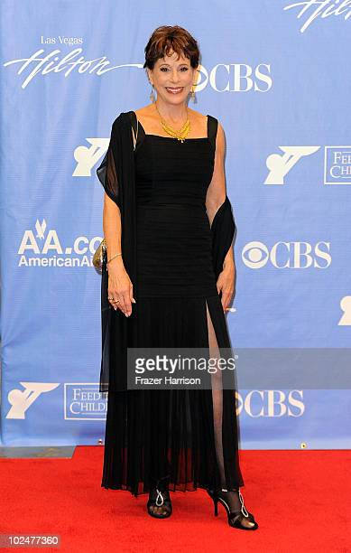 Actress Louise Sorel poses in the press room at the 37th Annual Daytime Entertainment Emmy Awards held at the Las Vegas Hilton on June 27 2010 in Las...