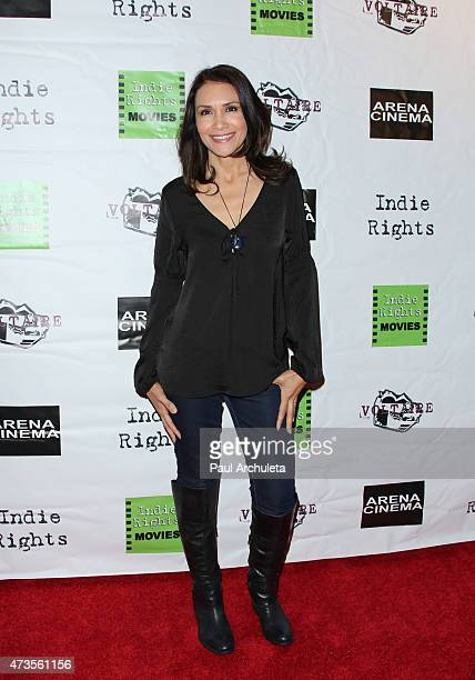 Actress Lourdes Colon attends the premiere of 'Miles To Go' at Arena Cinema Hollywood on May 15 2015 in Hollywood California