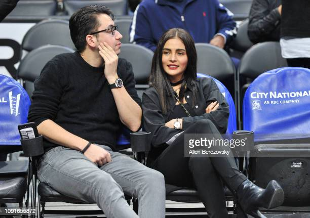 Actress Lovi Poe attends a basketball game between the Los Angeles Clippers and the Charlotte Hornets at Staples Center on January 08 2019 in Los...